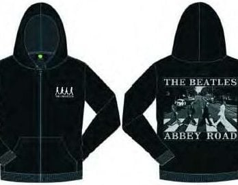 BEATLES-Jacke mit Kapuze BEATLES SILHOUETTE ABBEY ROAD
