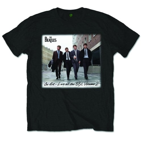 BEATLES-T-Shirt BEATLES ON AIR - LIVE AT THE BBC VOLUME 2
