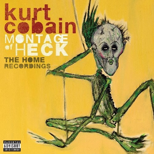 KURT COBAIN: Deluxe-CD MONTAGE OF HECK - THE HOME RECORDINGS