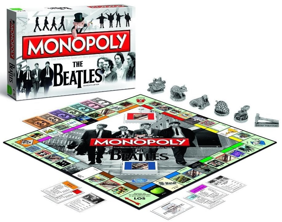 BRETTSPIEL THE BEATLES MONOPOLY in deutsch