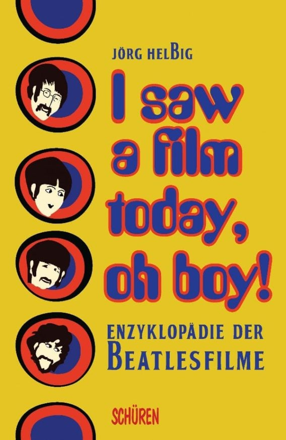 Deutsches BEATLES-Buch I SAW A FILM TODAY, OH BOY!