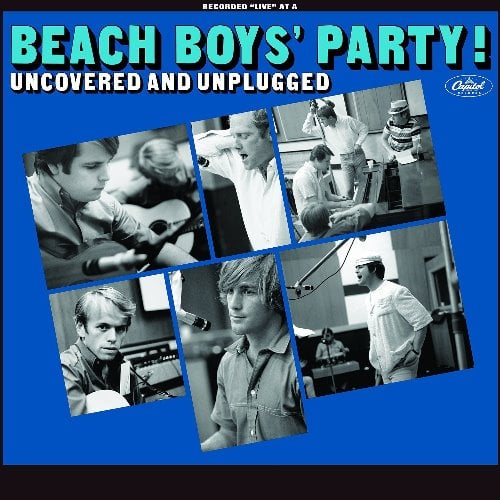 LP THE BEACH BOYS' PARTY! UNCOVERED AND UNPLUGGED