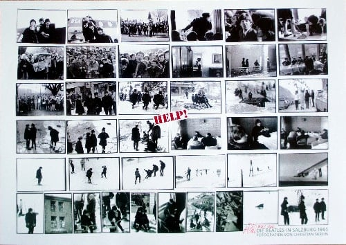CHRISTIAN SKREIN: special print HELP! - THE BEATLES IN SALZBURG