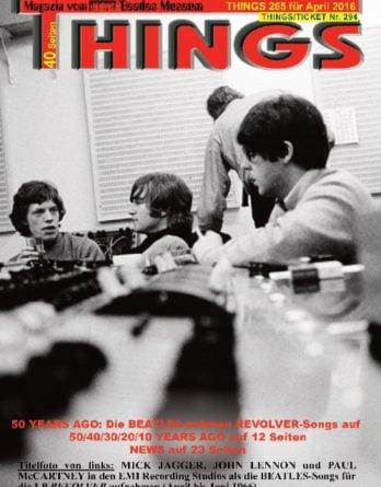 BEATLES-Magazin THINGS 265