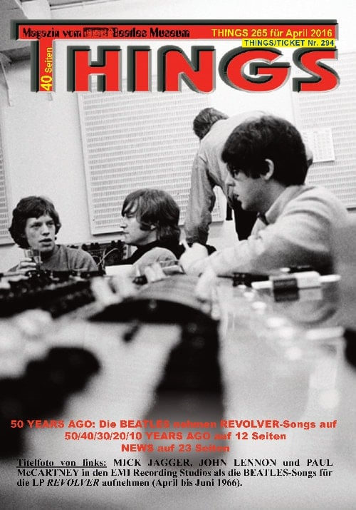 BEATLES-Magazin THINGS 265