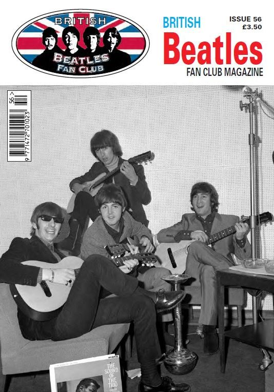 Fanmagazin BRITISH BEATLES FAN CLUB MAGAZINE - ISSUE 56