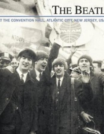 THE BEATLES: CD LIVE ATLANTIC CITY 1964