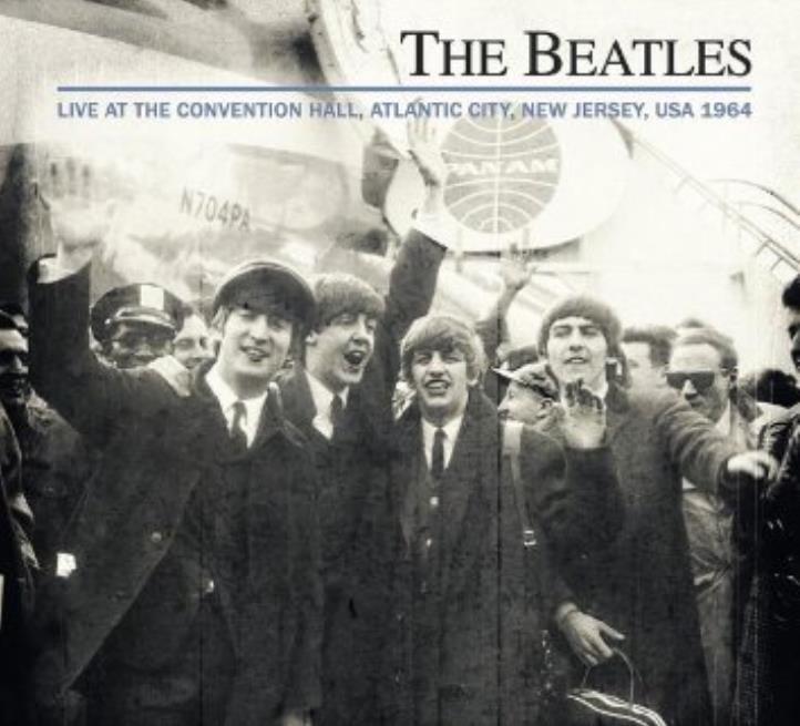 THE BEATLES: CD LIVE ATLANTIC CITY 1964