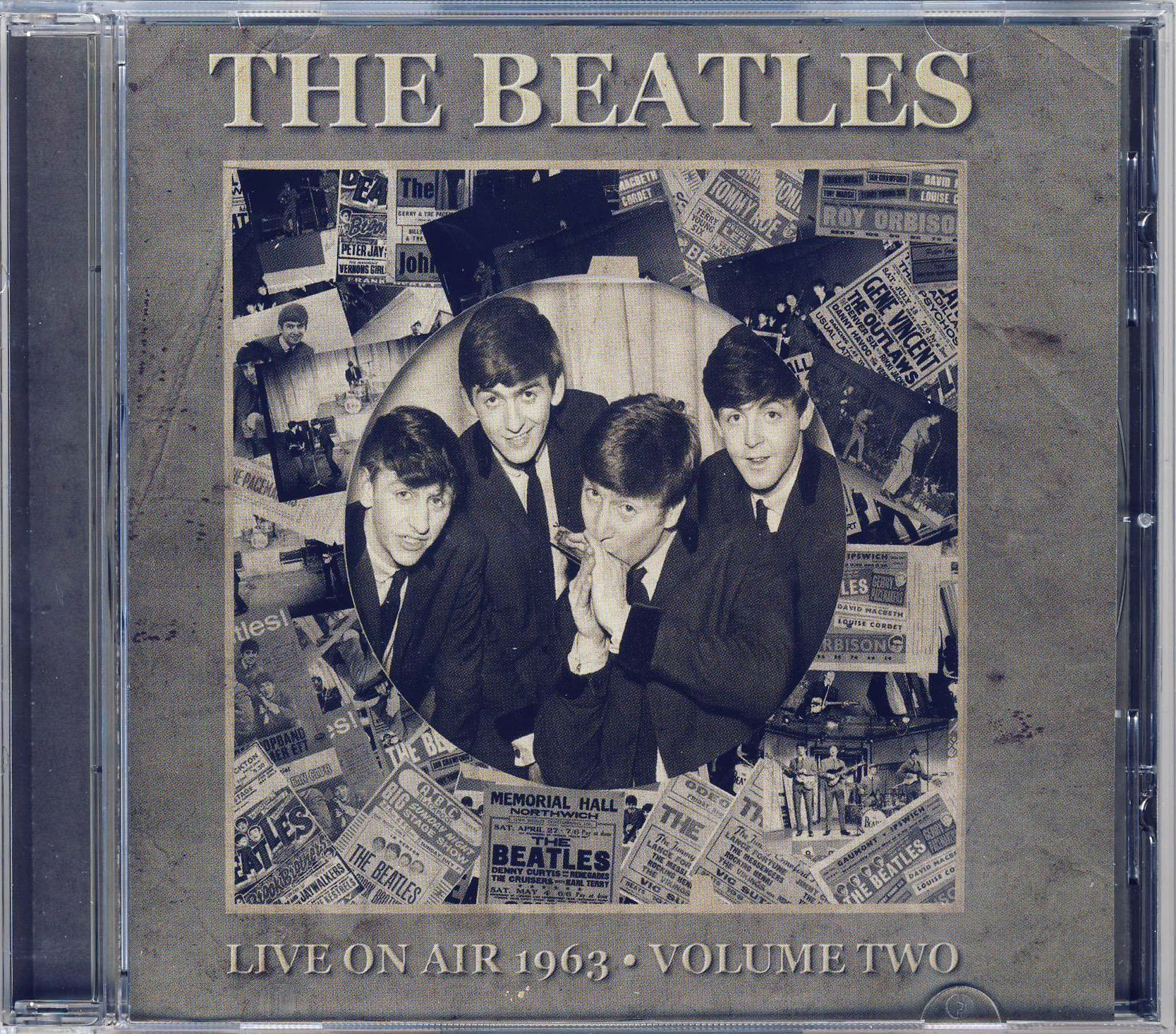THE BEATLES: CD LIVE ON AIR 1963 - VOLUME TWO (jewel case)