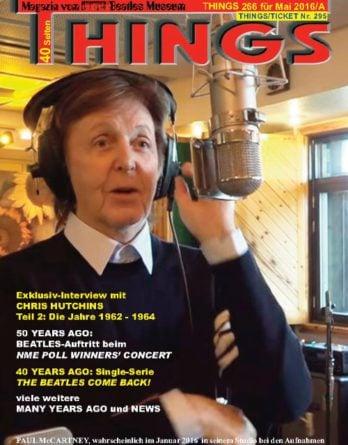 BEATLES-Magazin THINGS 266