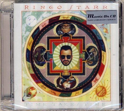 RINGO STARR: 2016er CD TIME TAKES TIME