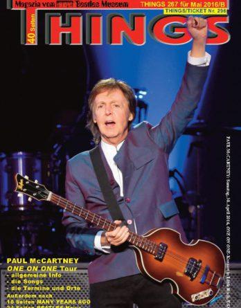 BEATLES-Magazin THINGS 267 (Nachdruck)