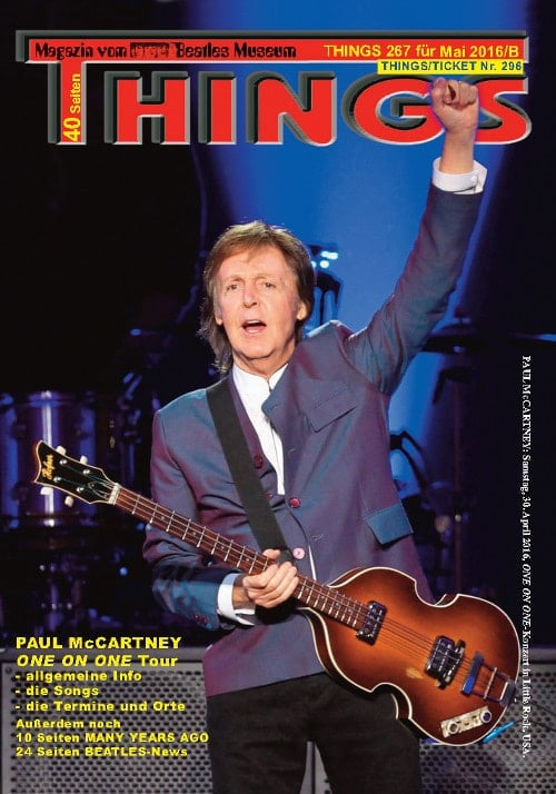 BEATLES-Magazin THINGS 267 (Nachdruck)