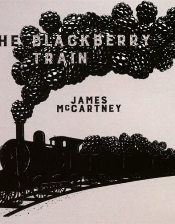 JAMES McCARTNEY:CD THE BLACKBERRY TRAIN