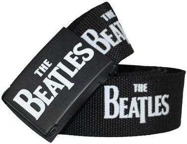 Gürtel LETTERING THE BEATLES WHITE ON BLACK