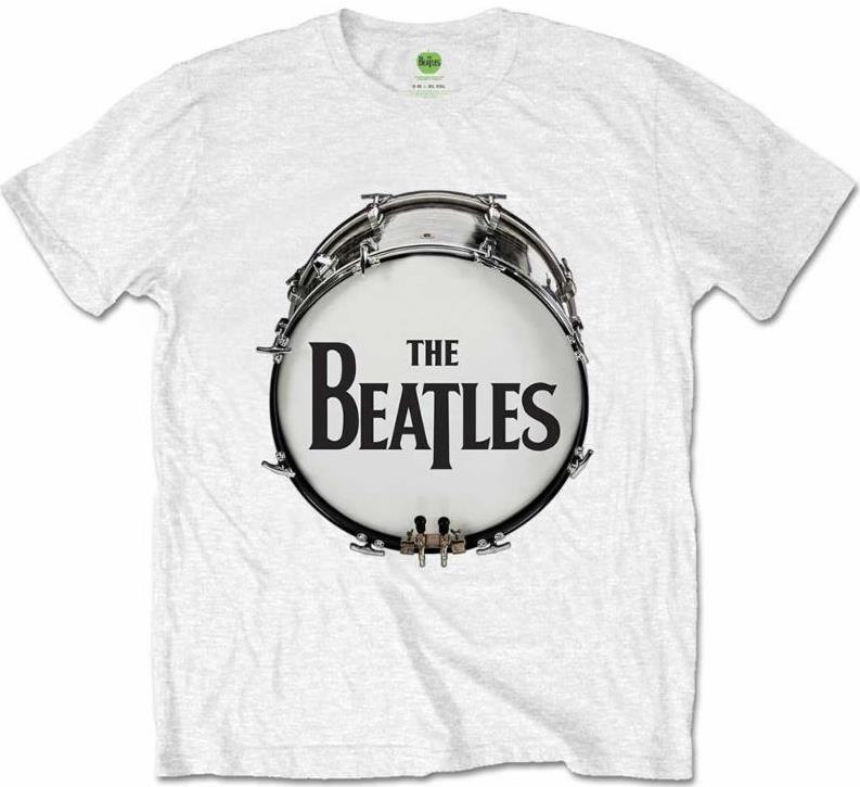 BEATLES T-Shirt BEATLES BASS DRUM - ON WHITE