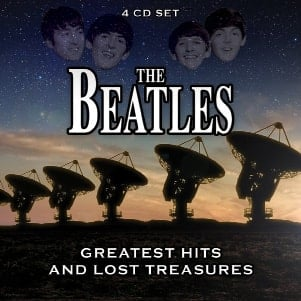 THE BEATLES: Box (4 CDs) GREATEST HITS AND LOST TREASURES