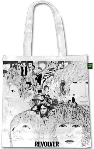 BEATLES-Shopperbag REVOLVER ALBUM COVER ON WHITE