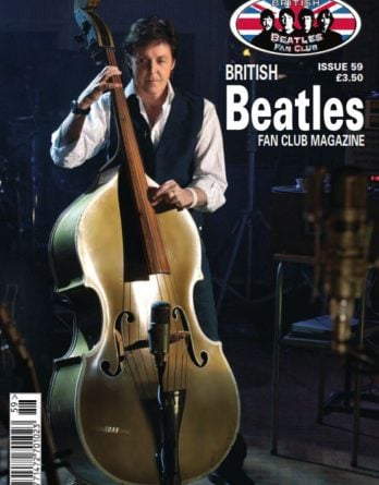 Fanmagazin BRITISH BEATLES FAN CLUB MAGAZINE - ISSUE 59