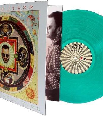 RINGO STARR: 2016er Green-Transparent-Vinyl-LP TIME TAKES TIME