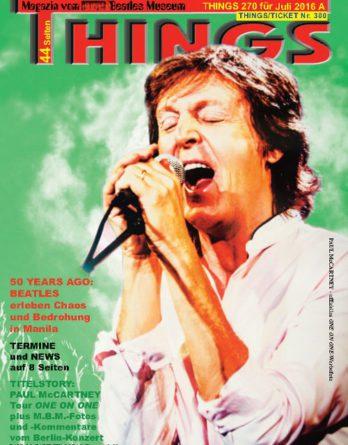 BEATLES-Magazin THINGS 270 NACHDRUCK