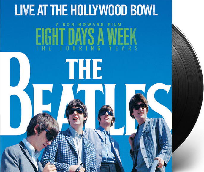 THE BEATLES: 2016er Vinyl-LP LIVE AT THE HOLLYWOOD BOWL