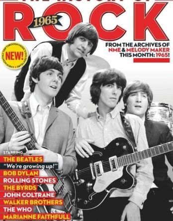 engl. Paperback THE HISTORY OF ROCK 1965 reprint