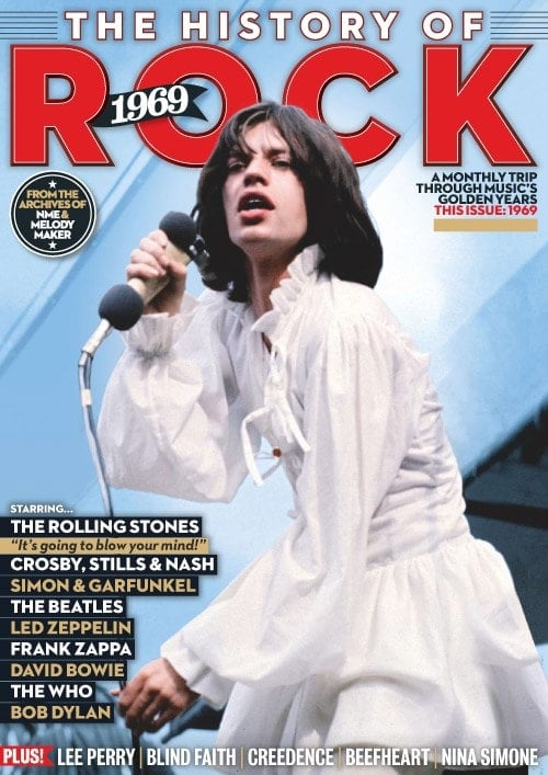 engl. Paperback THE HISTORY OF ROCK 1969 reprint