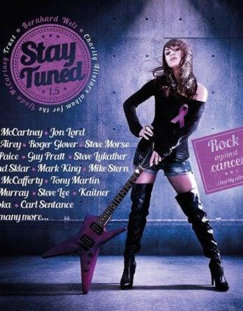 BERNHARD WELZ: CD STAY TUNED 1.5 mit McCARTNEY-Aufnahme