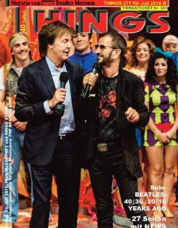 BEATLES-Magazin THINGS 271 (Nachdruck)