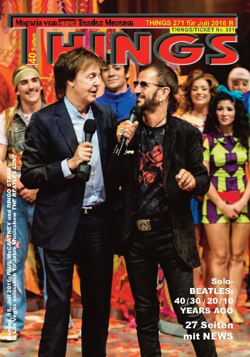 BEATLES-Magazin THINGS 271 (Nachdruck)