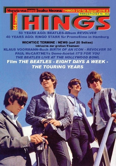 BEATLES-Magazin THINGS 272 (Nachdruck)