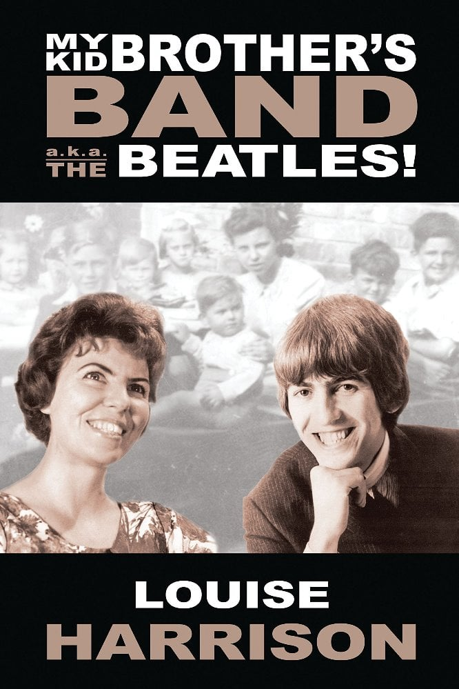GEORGE HARRISON-Buch Buch MY KID BROTHER'S BAND A.K.A. THE BEATL