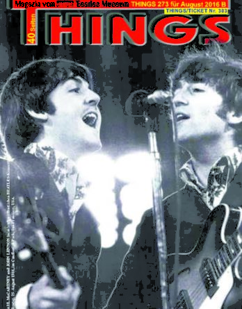 BEATLES-Magazin THINGS 273