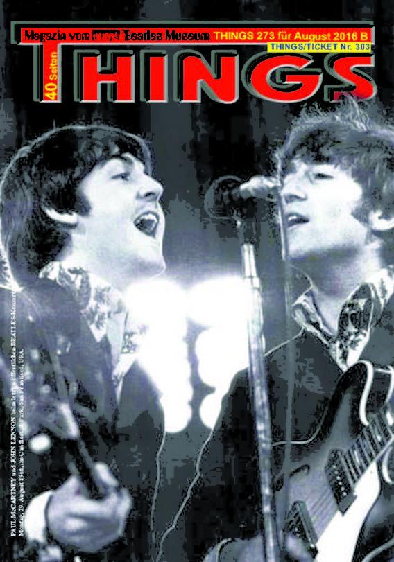 BEATLES-Magazin THINGS 273