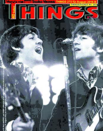 BEATLES-Magazin THINGS 273 (Nachdruck)