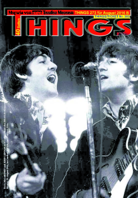 BEATLES-Magazin THINGS 273 (Nachdruck)