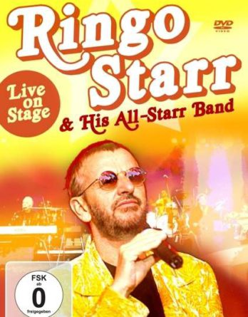 RINGO STARR: DVD LIVE ON STAGE