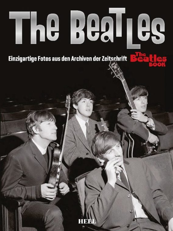 "Deutsches THE BEATLES ... FOTOS AUS ... ""THE BEATLES BOOK"""