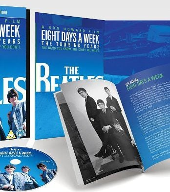 BEATLES: Do.-Blu-ray EIGHT DAYS A WEEK - TOURING YEARS - deluxe