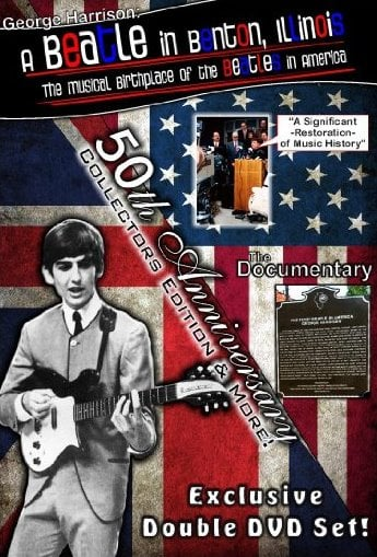 Doppel-DVD GEORGE HARRISON - A BEATLE IN BENTON ILLINOIS