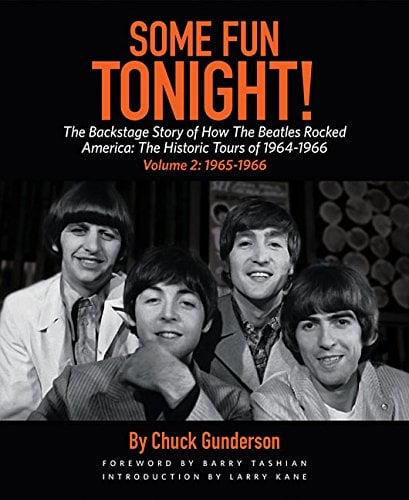 BEATLES-Buch SOME FUN TONIGHT - VOL. 2 - AMERICA CONCERTS 1965 &
