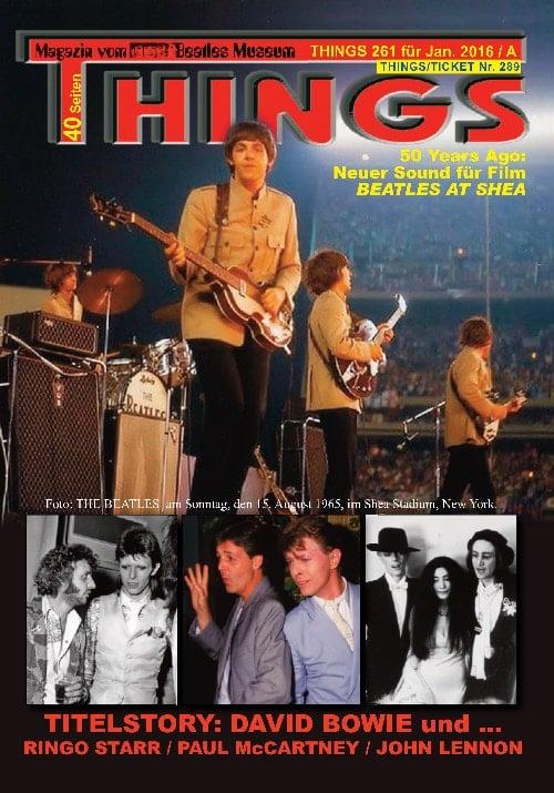 BEATLES-Magazin THINGS 261 Nachdruck