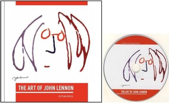Katalog mit CD THE ART OF JOHN LENNON