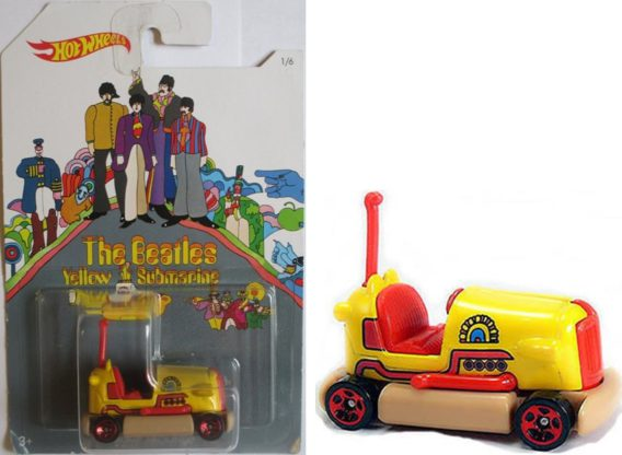 BEATLES-Modellauto YELLOW SUBMARINE - BUMP AROUND