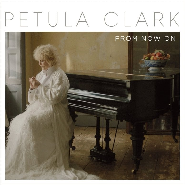 "PETULA CLARK: LP FROM NOW ON mit Song ""Blackbird"""