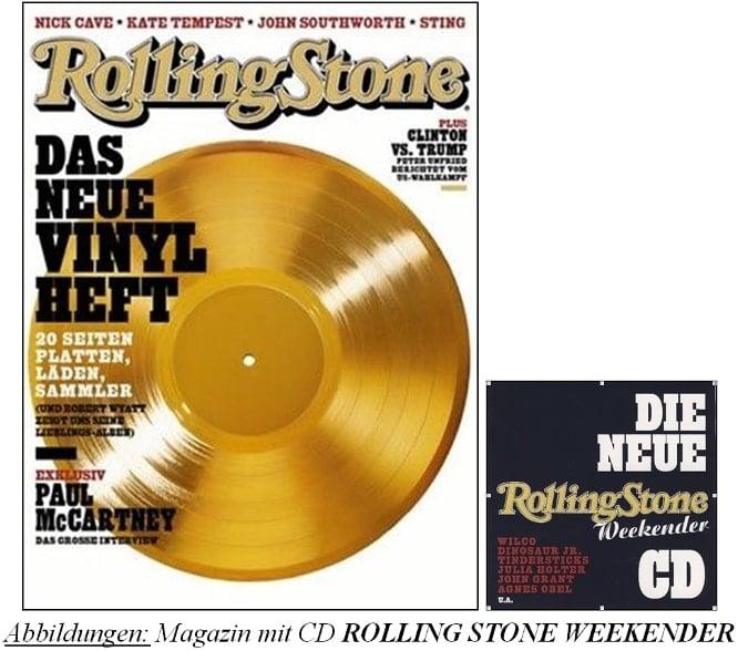 Zeitschrift ROLLING STONE 10/2016 mit McCARTNEY-Interview