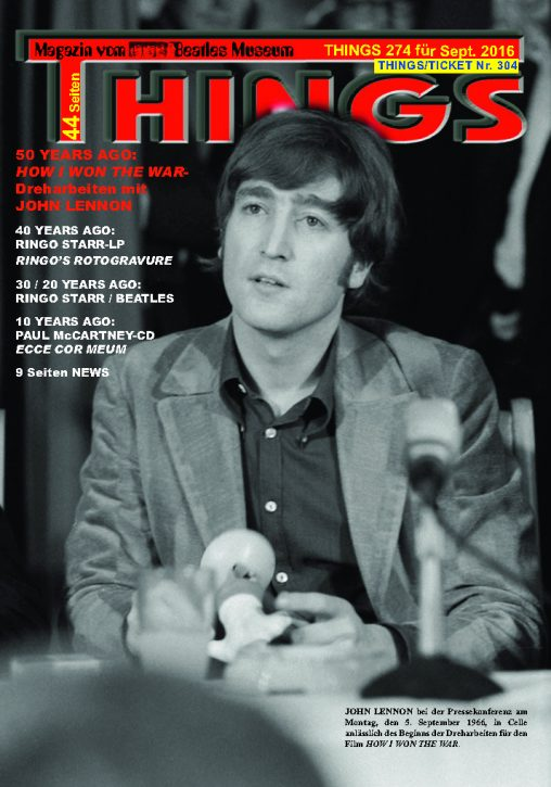 BEATLES-Magazin THINGS 274