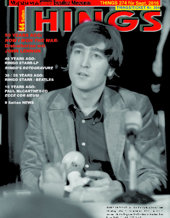 BEATLES-Magazin THINGS 274 (Nachdruck)