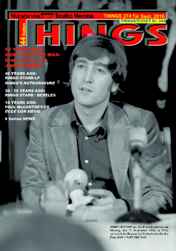 BEATLES-Magazin THINGS 274 (Nachdruck)